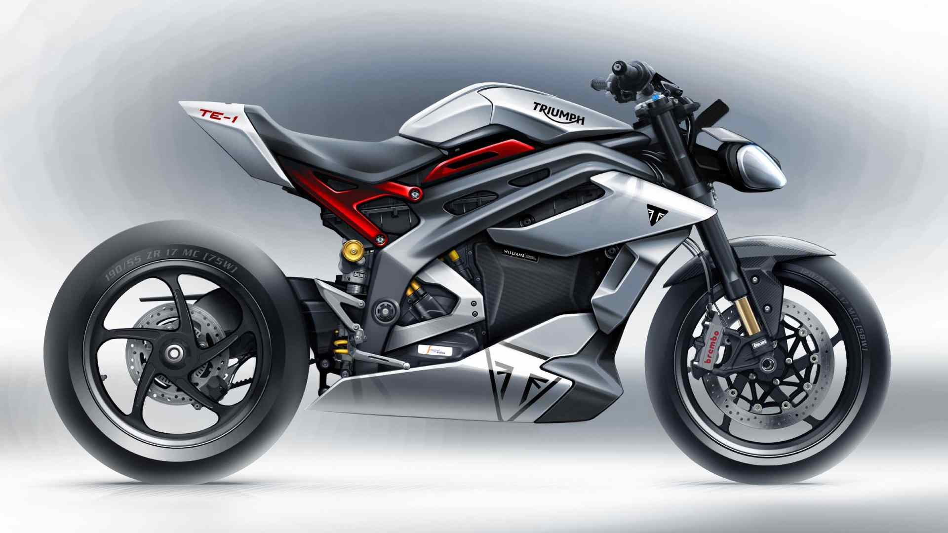 Triumph Project TE-1 electric superbike previewed, electric powertrain revealed