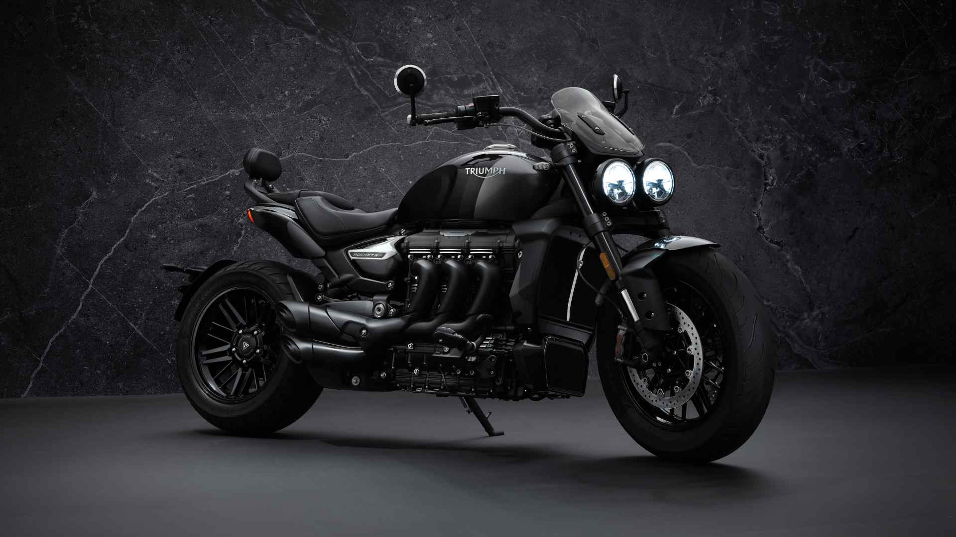 Expect the Triumph Rocket 3 GT Triple Black's price in India to be close to the Rs 20 lakh mark. Image: Triumph Motorcycles