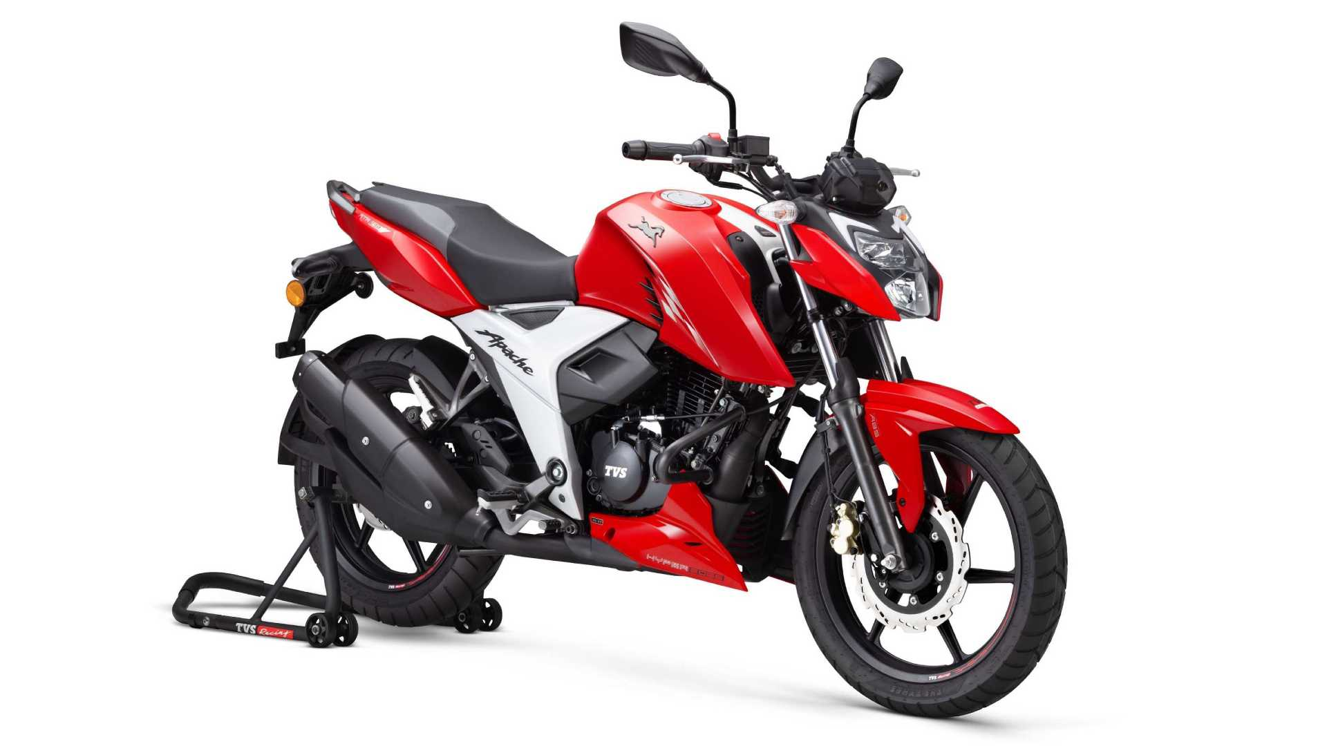 Updated TVS Apache RTR 160 4V launched at Rs 1.07 lakh, is lighter and more powerful