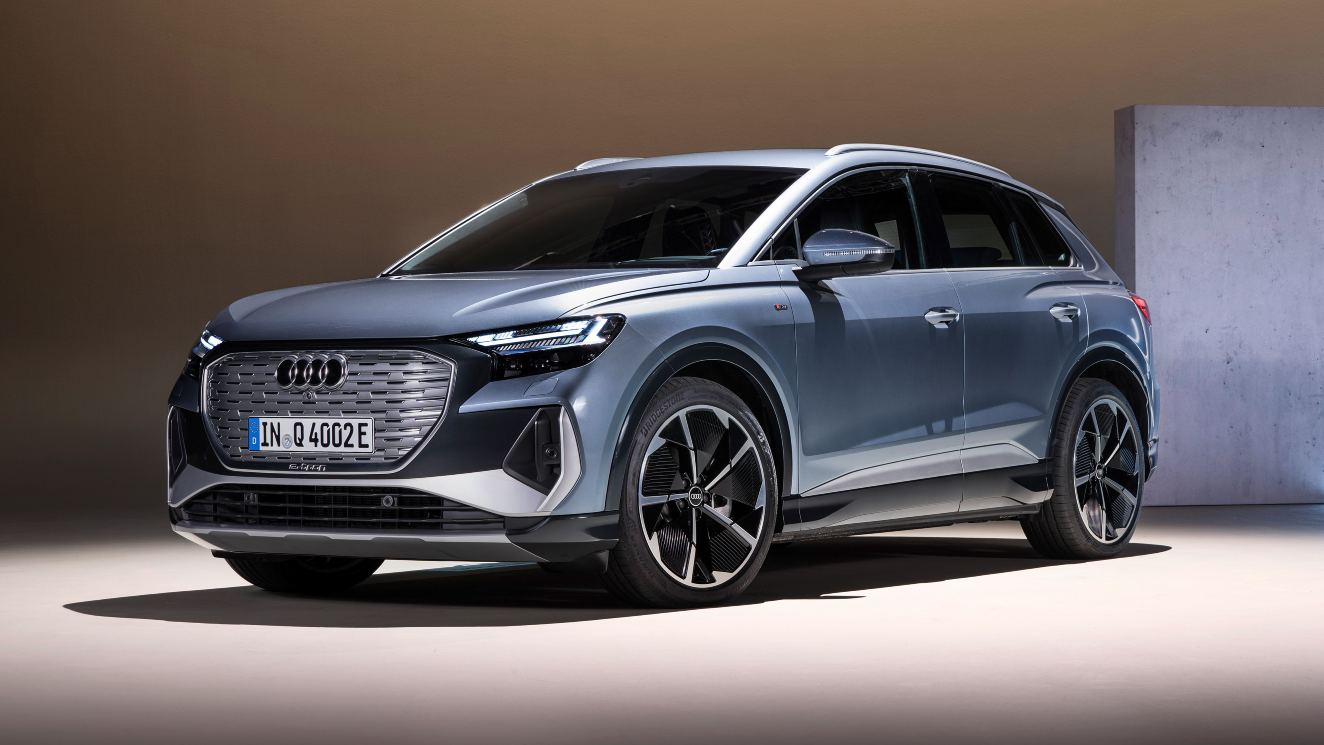 Audi Q4 e-tron electric SUV debuts in production form with a range of up to 520 km