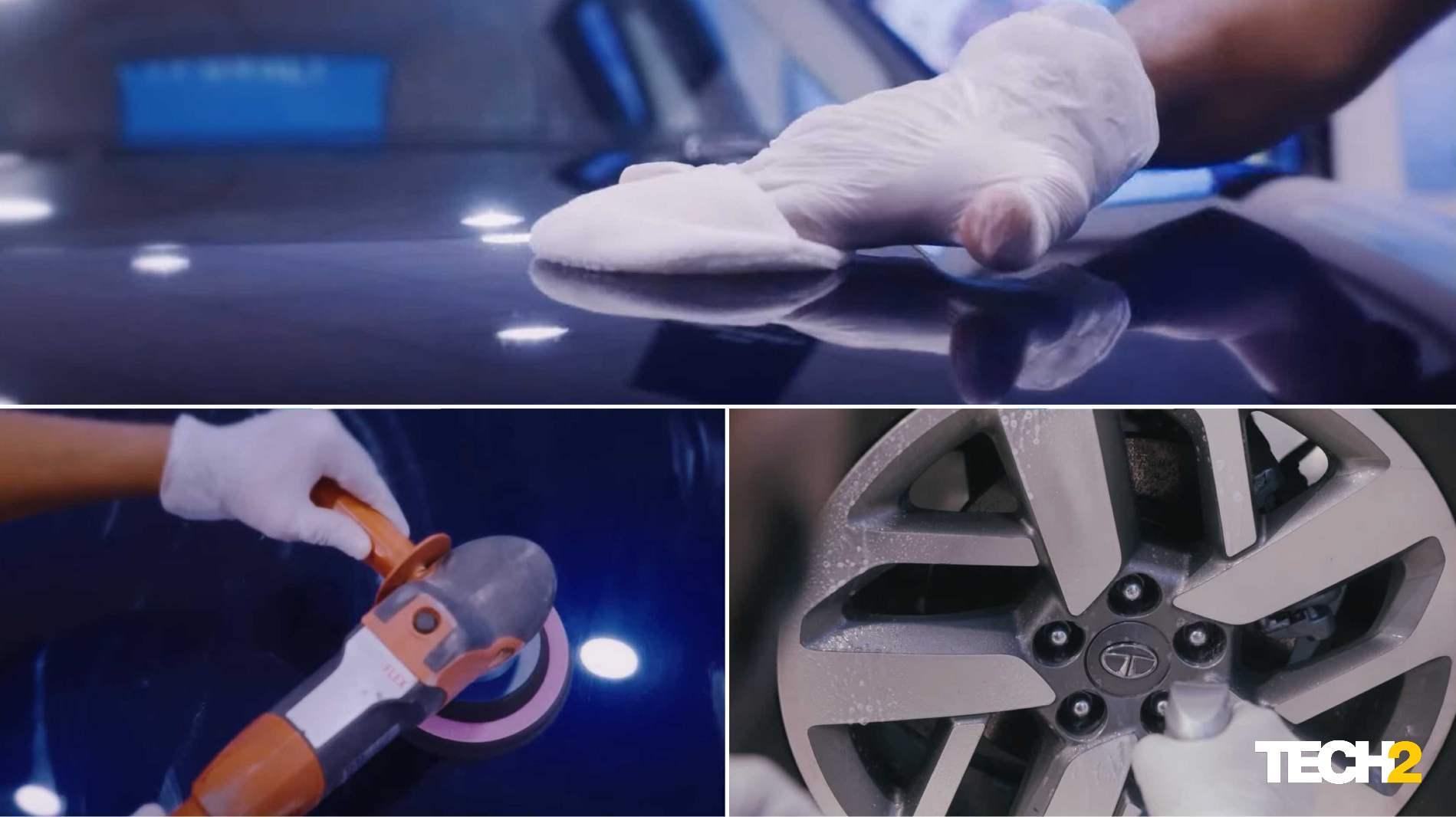 Tata's ceramic coating service covers all exterior elements of the vehicle.  Image: Tata Motors