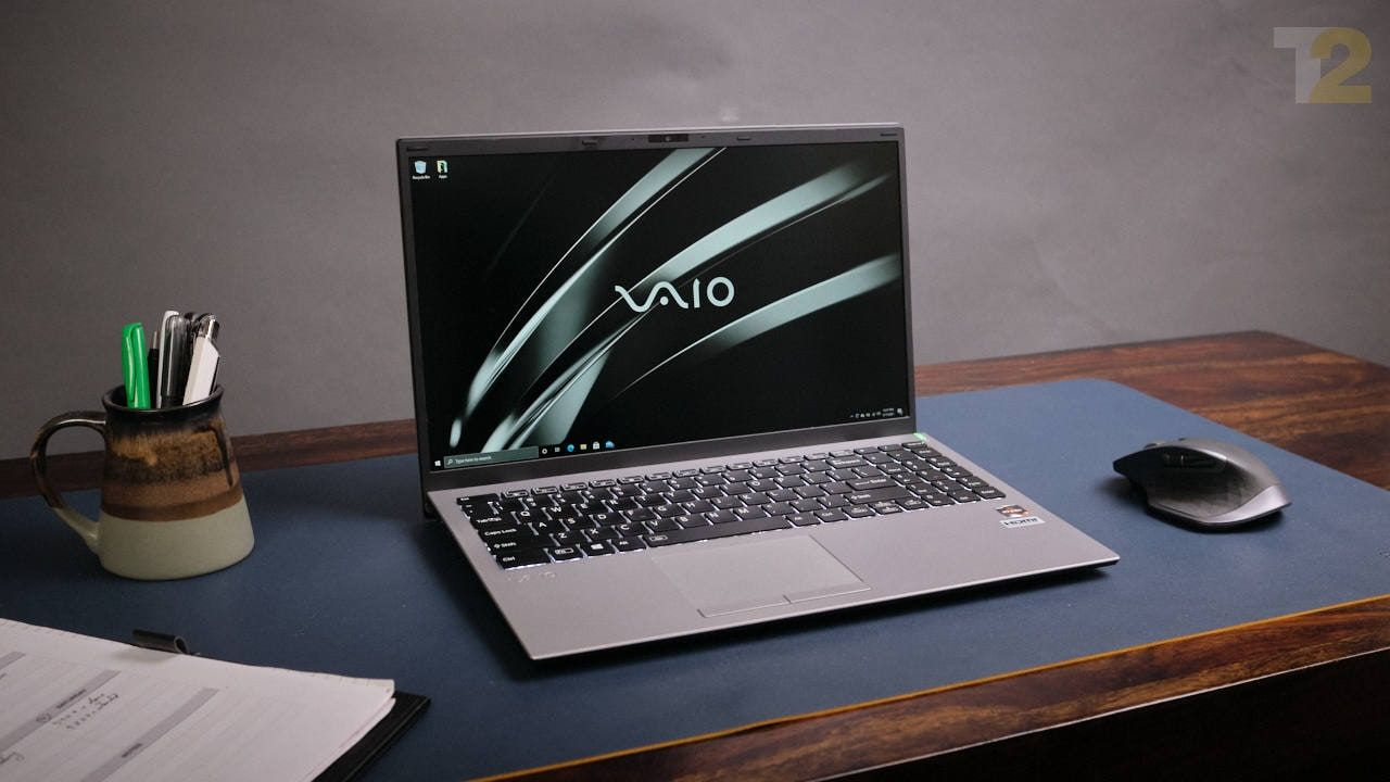 The Vaio E15 is a decent piece of kit, but it's high pricing makes it impossible to recommend. Image: Tech2/Anirudh Regidi