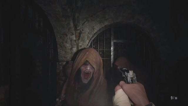 These charming ladies are called Moroica, and they could just eat you up. Screen grab from Resident Evil: Village