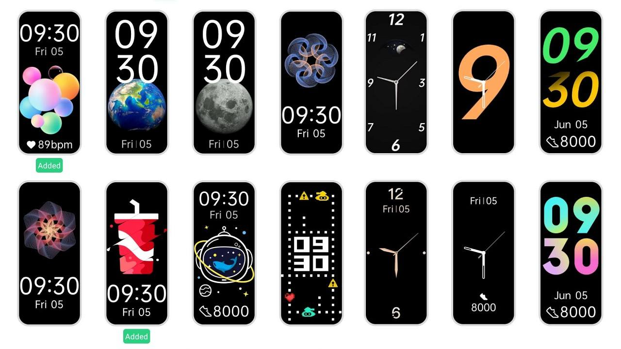 The watch face library has a little over a couple of dozen options that offer a mix of digital, analogue watch faces and some with fitness data.