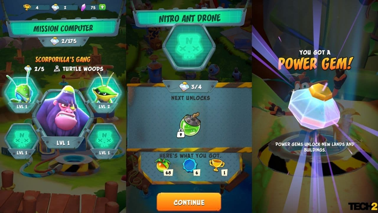 In the Nitro Lab, you need to create bombs and serums to be able to play the boss battles. Image: tech2