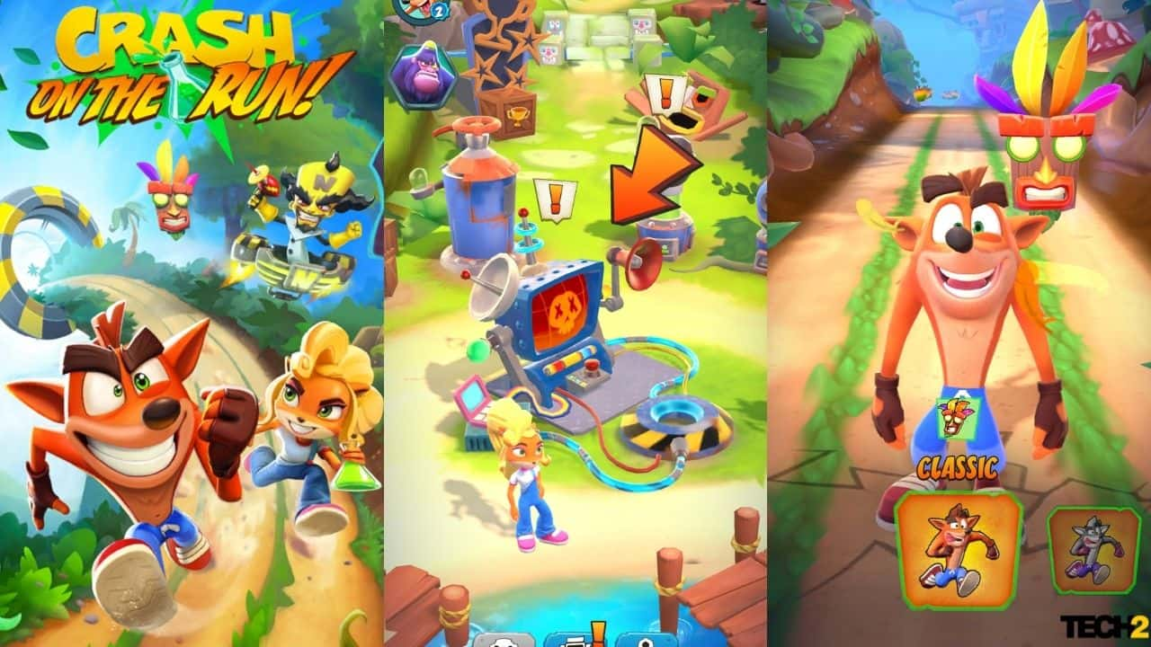 Crash Bandicoot: On the Run is available for free on both Android and iOS.