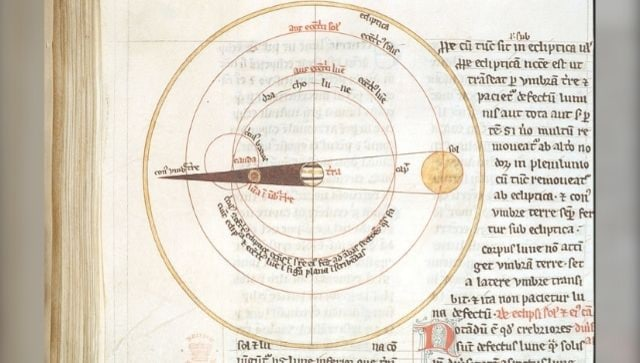 For medieval Christians, understanding lunar eclipse was a complex affair: A sign from God or a scientific phenomenon?