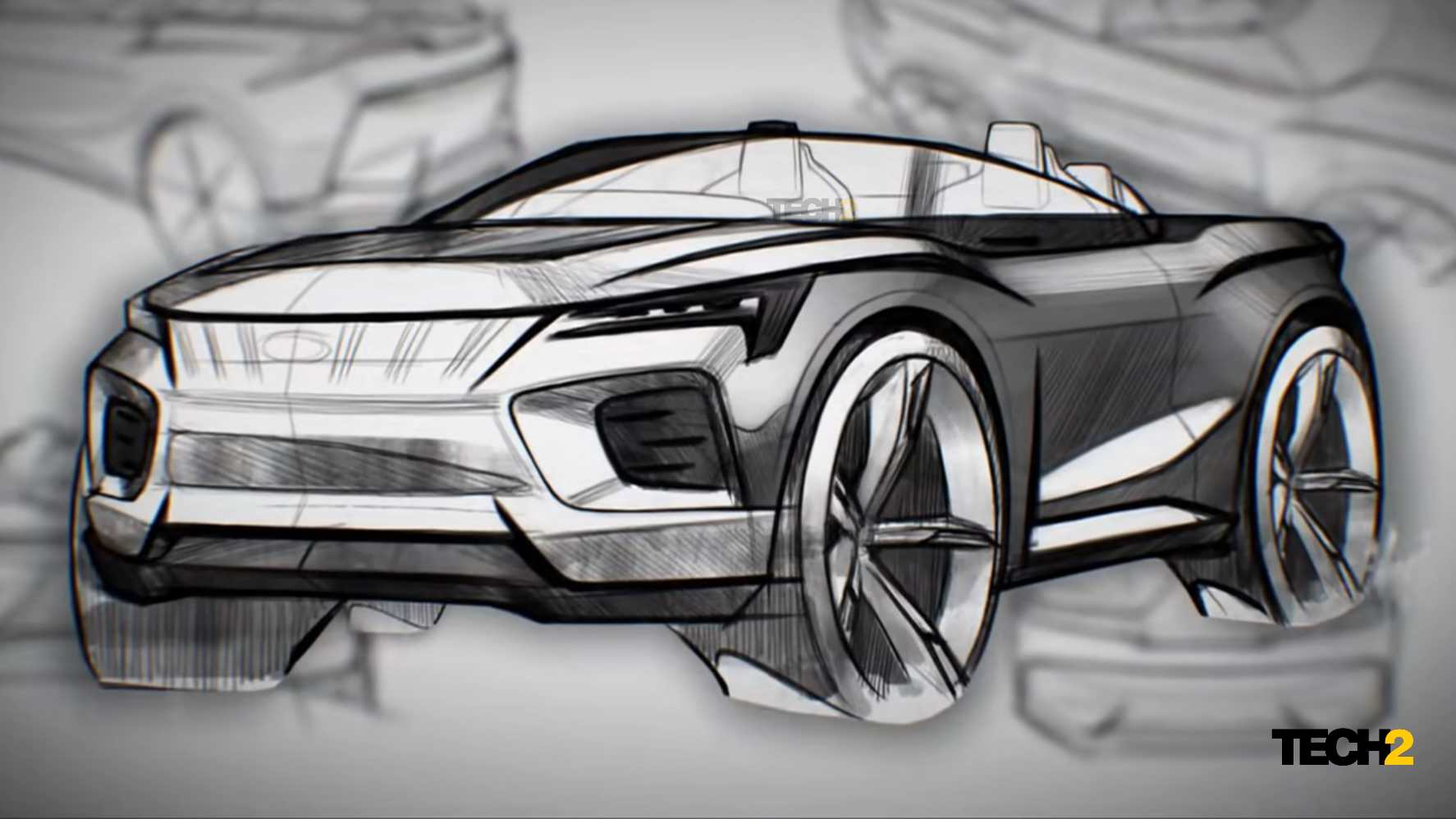 Mahindra's new design centre in the UK will shape the brand's future models, including electric SUVs. Image: Mahindra