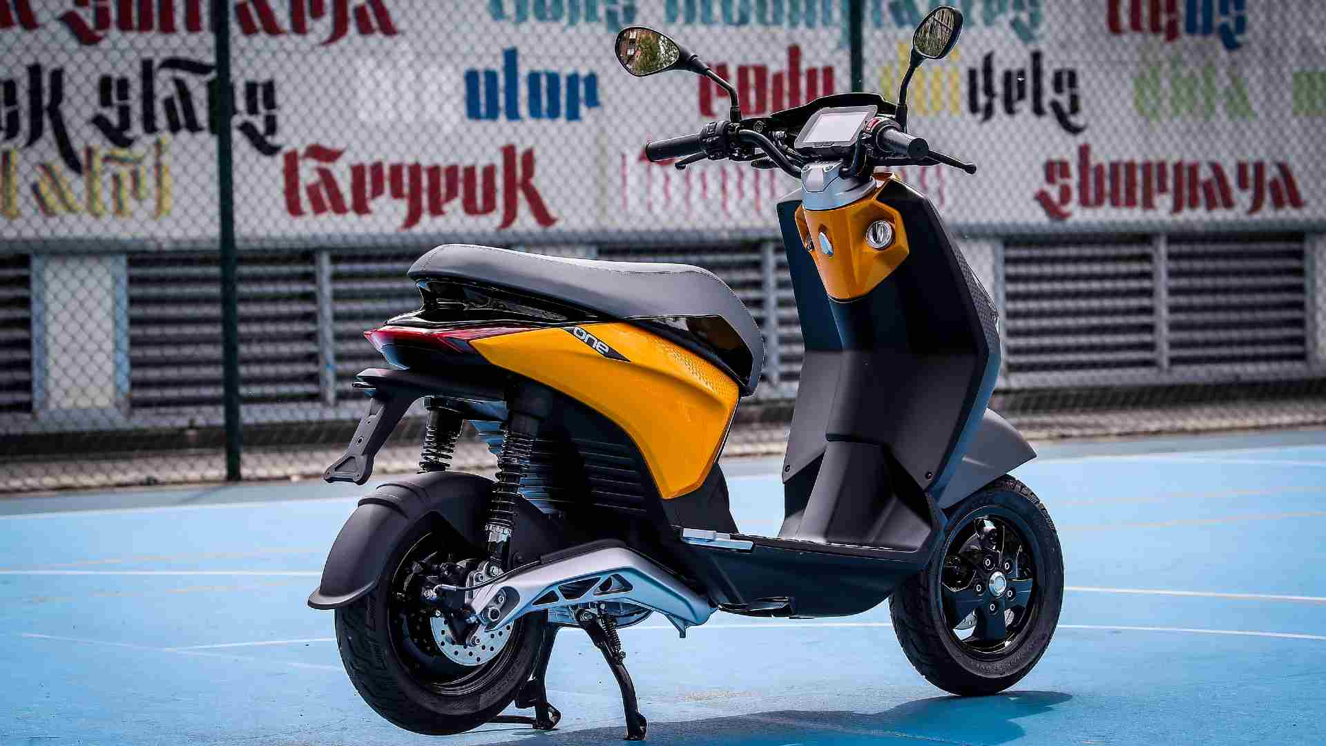 Piaggio will put the One electric scooter on sale in Europe at the end of June. Image: Piaggio