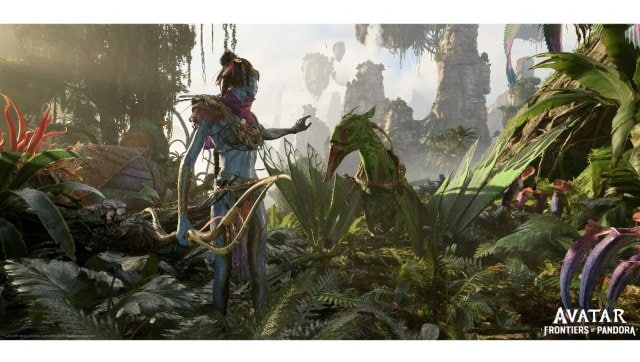 Screengrab from Avatar: Frontiers of Pandora displayed at E3 2021. AFP