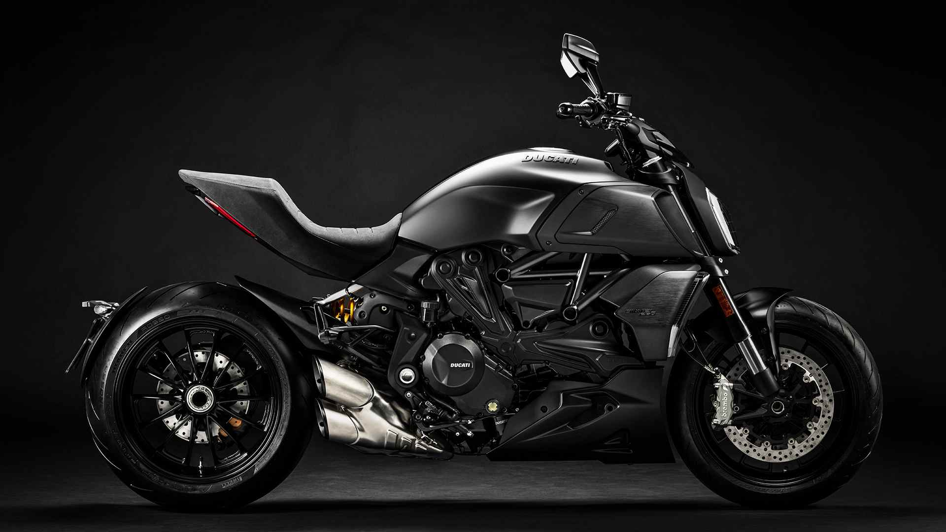 In its BS6 avatar, the Ducati Diavel is slightly heavier but also a little more powerful. Image: Ducati