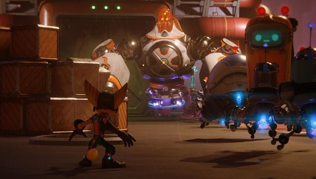 Screen grab from Ratchet and Clank: Rift Apart