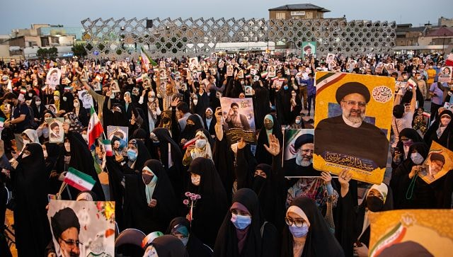 US blocks websites linked to Tehran shortly after vote to instal Ebrahim Raisi as Iran's new president