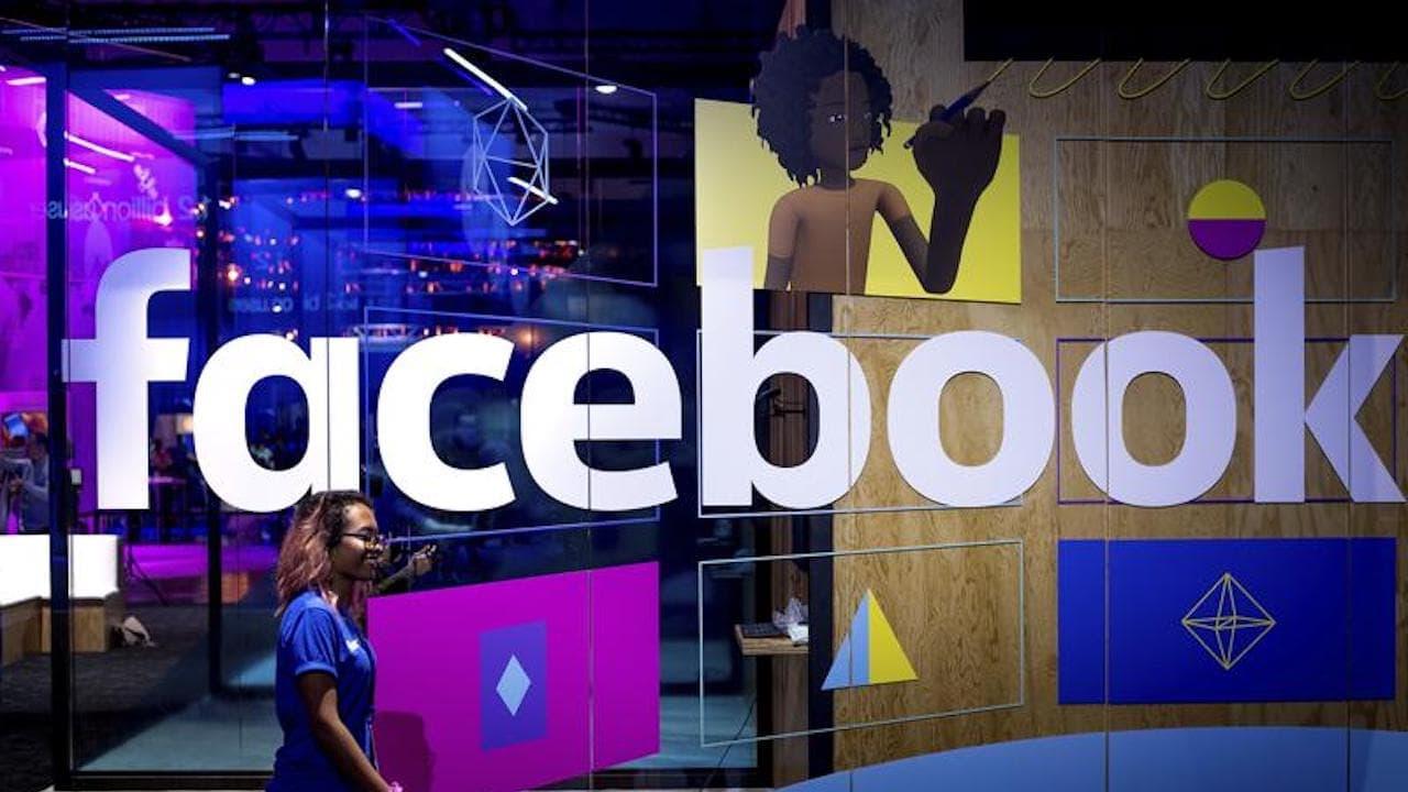 Facebook logo. Image: AP
