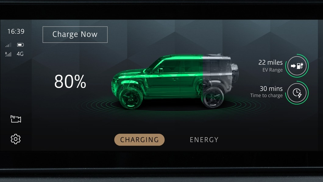 It is unclear at this time if the Land Rover fuel-cell EV will go into production. Image: Land Rover