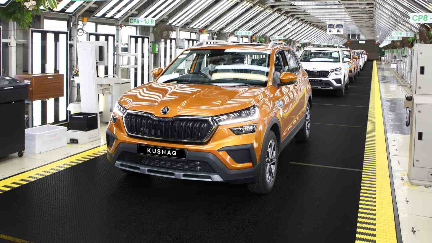 The Skoda Kushaq is set to be launched towards the end of June. Image: Skoda