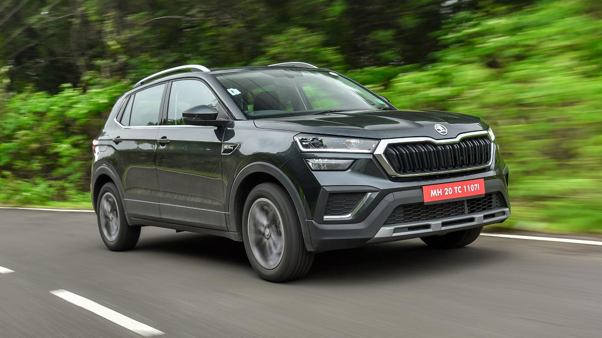 For those who enjoy driving, the Skoda Kushaq will be the midsize SUV to pick. Image: Overdrive/Anis Shaikh