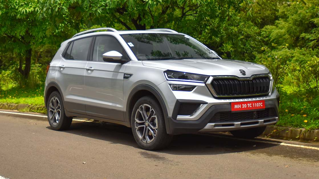 The Kushaq's design is clean, sophisticated and is one of its strengths. Image: Overdrive/Anis Shaikh
