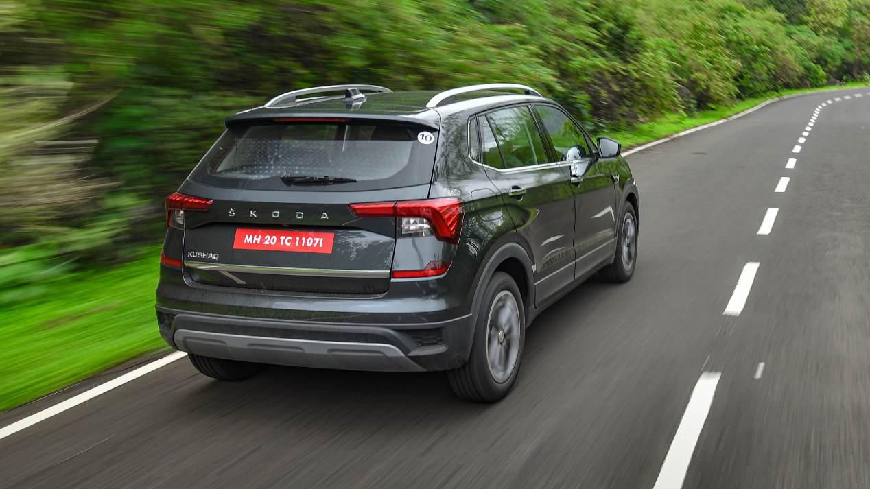 As tested, the Skoda Kushaq Style 1.5 TSI DSG is priced at Rs 17.60 lakh (ex-showroom). Image: Overdrive/Anis Shaikh