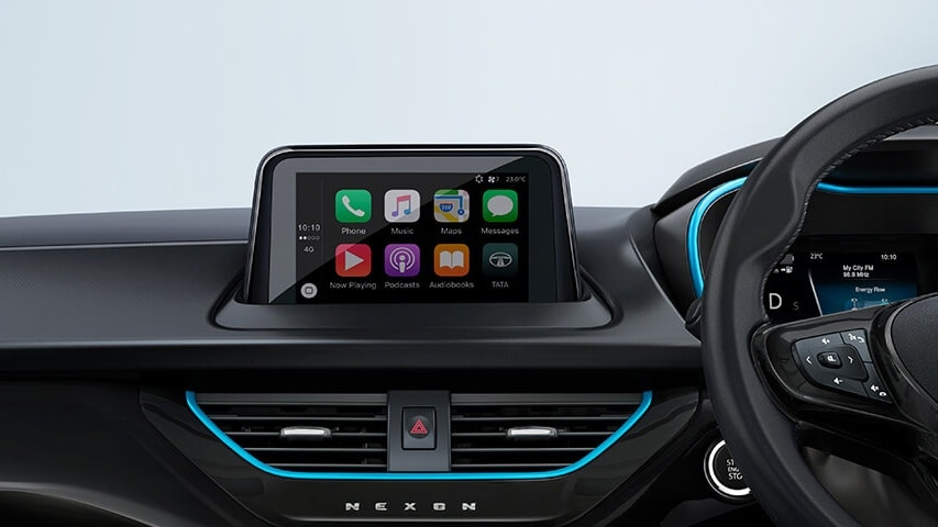 Physical controls placed under the touchscreen have been deleted. Image: Tata Motors