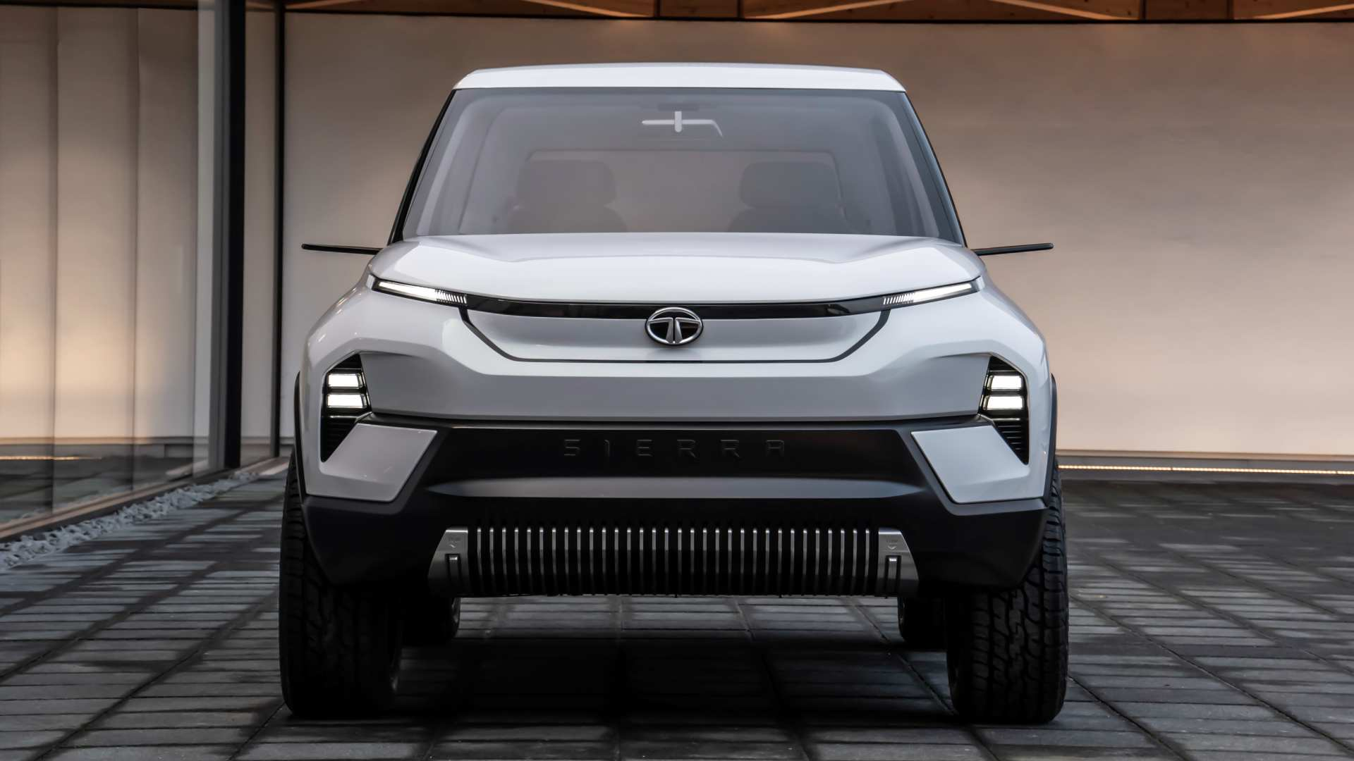 The reborn Tata Sierra is one of the all-new, all-electric models Tata Motors has showcased in the past. Image: Tata Motors