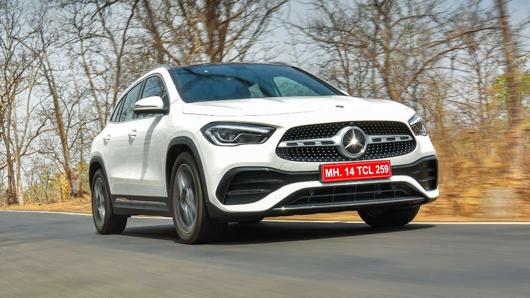 The GLA's 2.0-litre diesel engine feels alert and happy to rev. Image: Overdrive/Anis Shaikh