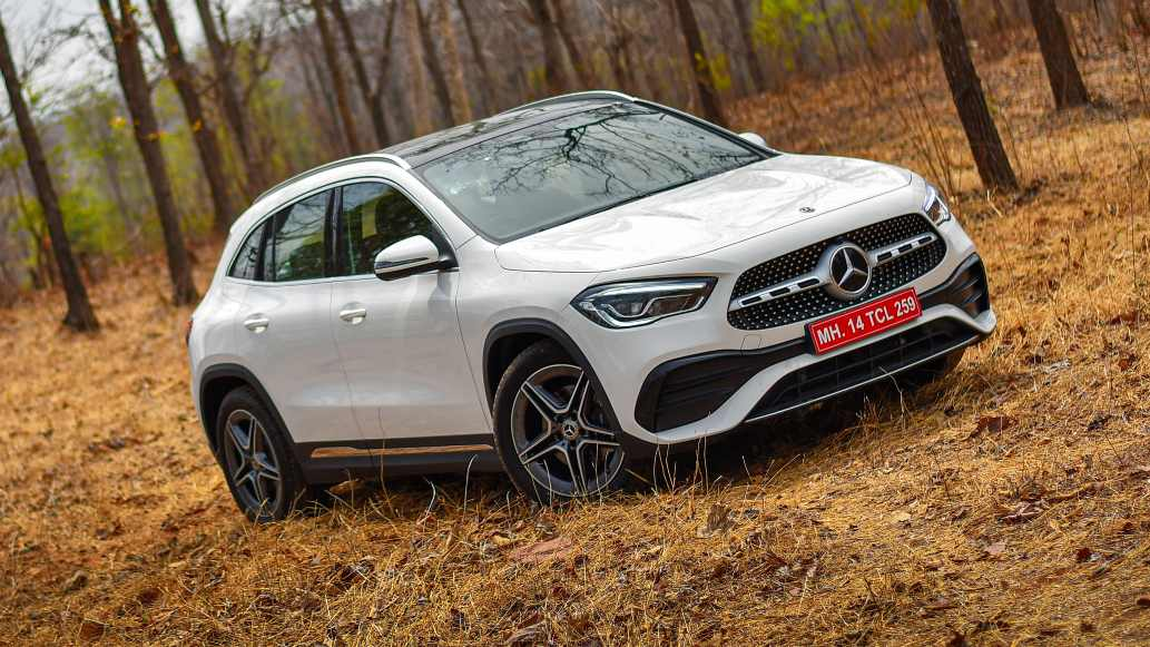 Visually, the second-gen Mercedes-Benz GLA looks a lot larger than its predecessor. Image: Overdrive/Anis Shaikh