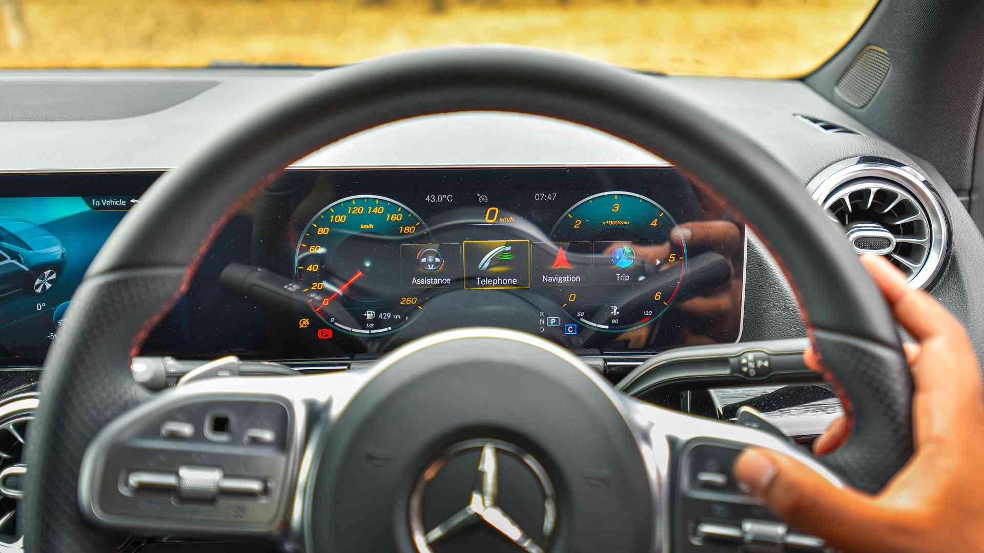 Using the capacitive controls for the infotainment can be a frustrating experience. Image: Overdrive/Anis Shaikh
