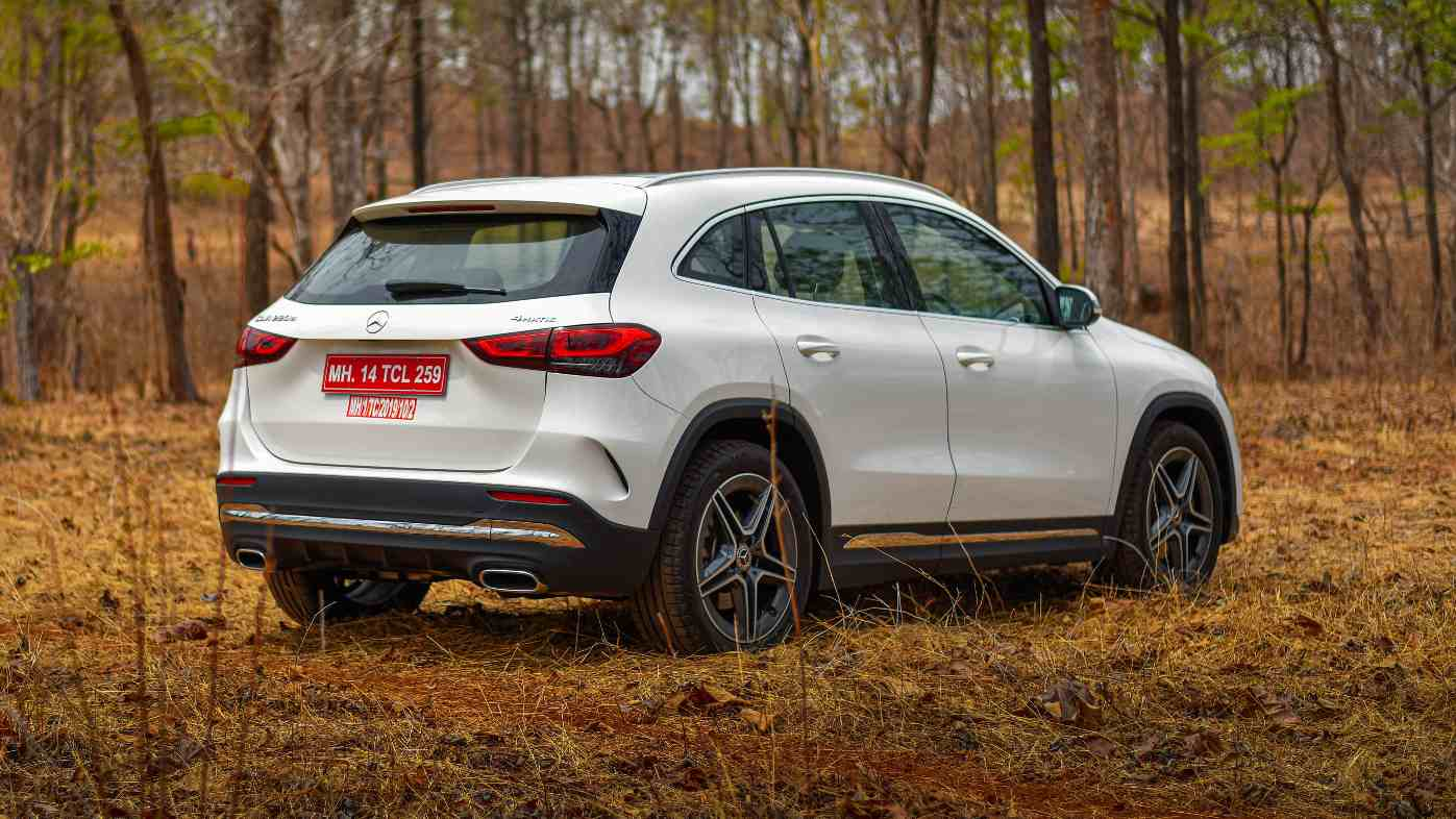 The 2021 Mercedes-Benz GLA 220d 4MATIC is priced at Rs 47.69 lakh (ex-showroom). Image: Overdrive/Anis Shaikh