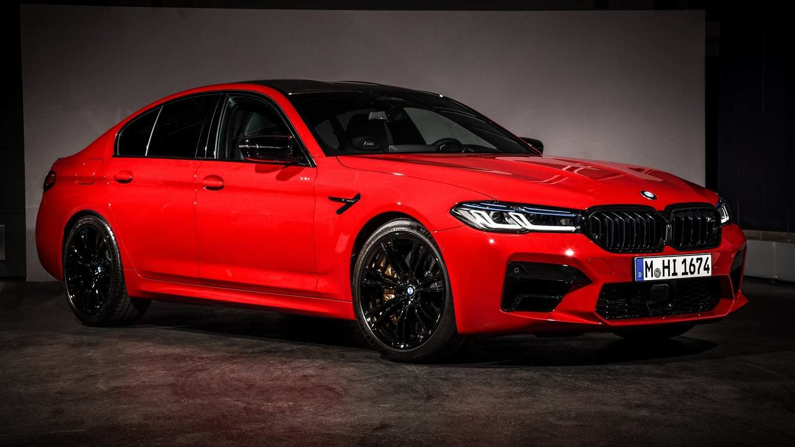 With its midlife update, the BMW M5 Competition looks far more aggressive than before. Image: BMW