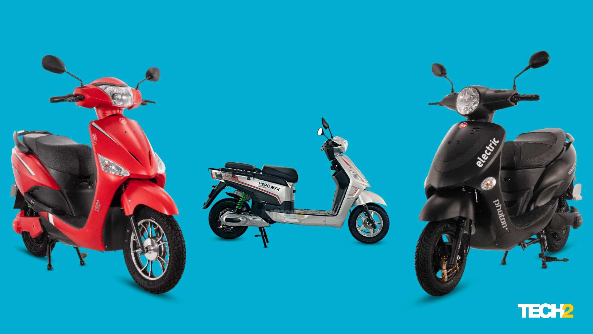 Hero Electric's mid-speed scooter range has seen a drastic drop in prices post introduction of state subsidies. Image: Tech2/Amaan Ahmed