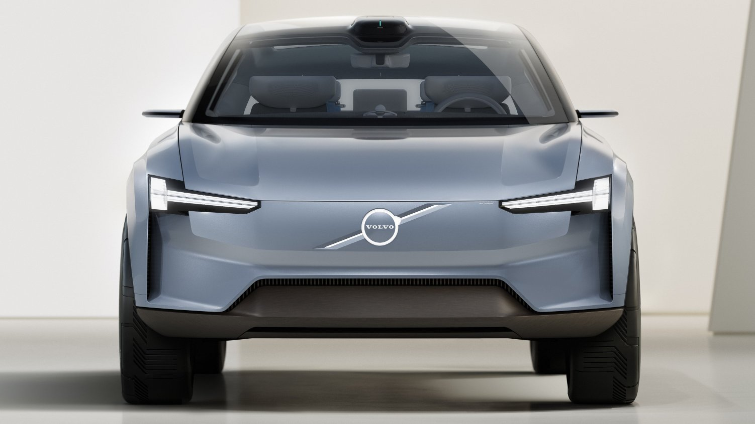 The Volvo Concept Recharge was revealed at the company's Tech Moment event. Image: Volvo