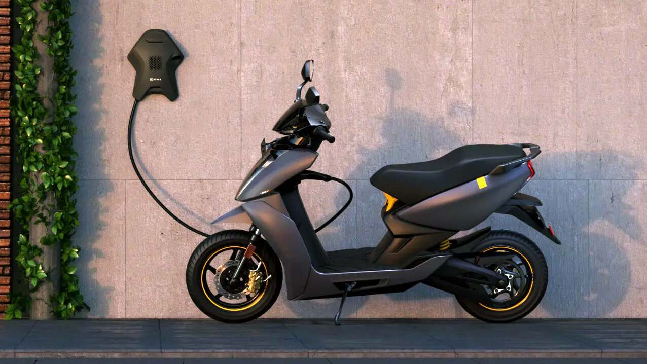 Prices of electric two-wheelers in Rajasthan are set to drop by about Rs 5,000 to Rs 10,000. Image: Ather Energy