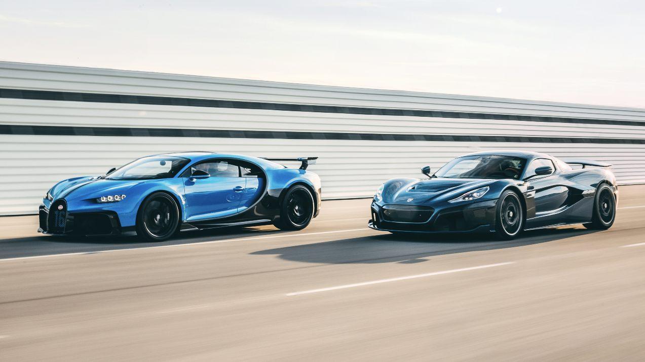 Bugatti-Rimac will be founded in the fourth quarter of 2021. Image: Bugatti