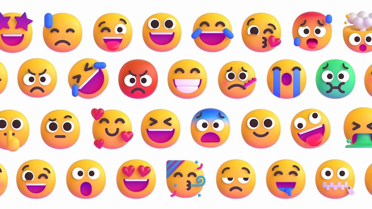 World Emoji Day is celebrated on 17 July. Image: Microsoft