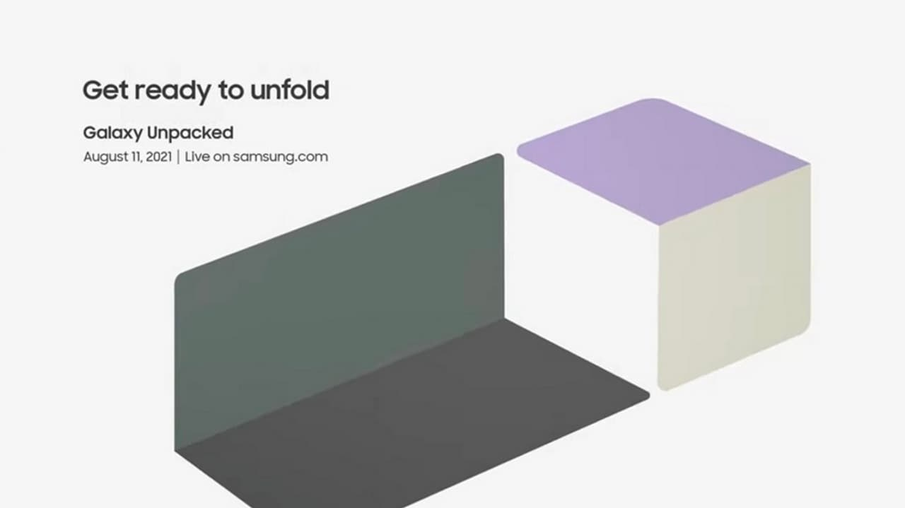 Samsung Galaxy Unpacked event will kick off at 7.30 pm IST on 11 August.