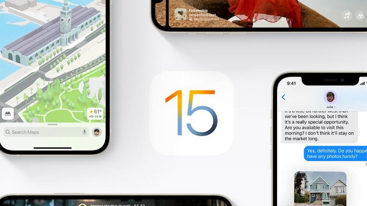 ios 15 preview