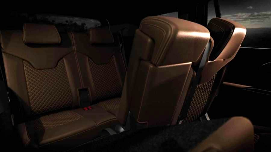 A peek at the third row of the Jeep Meridian. Image: Jeep