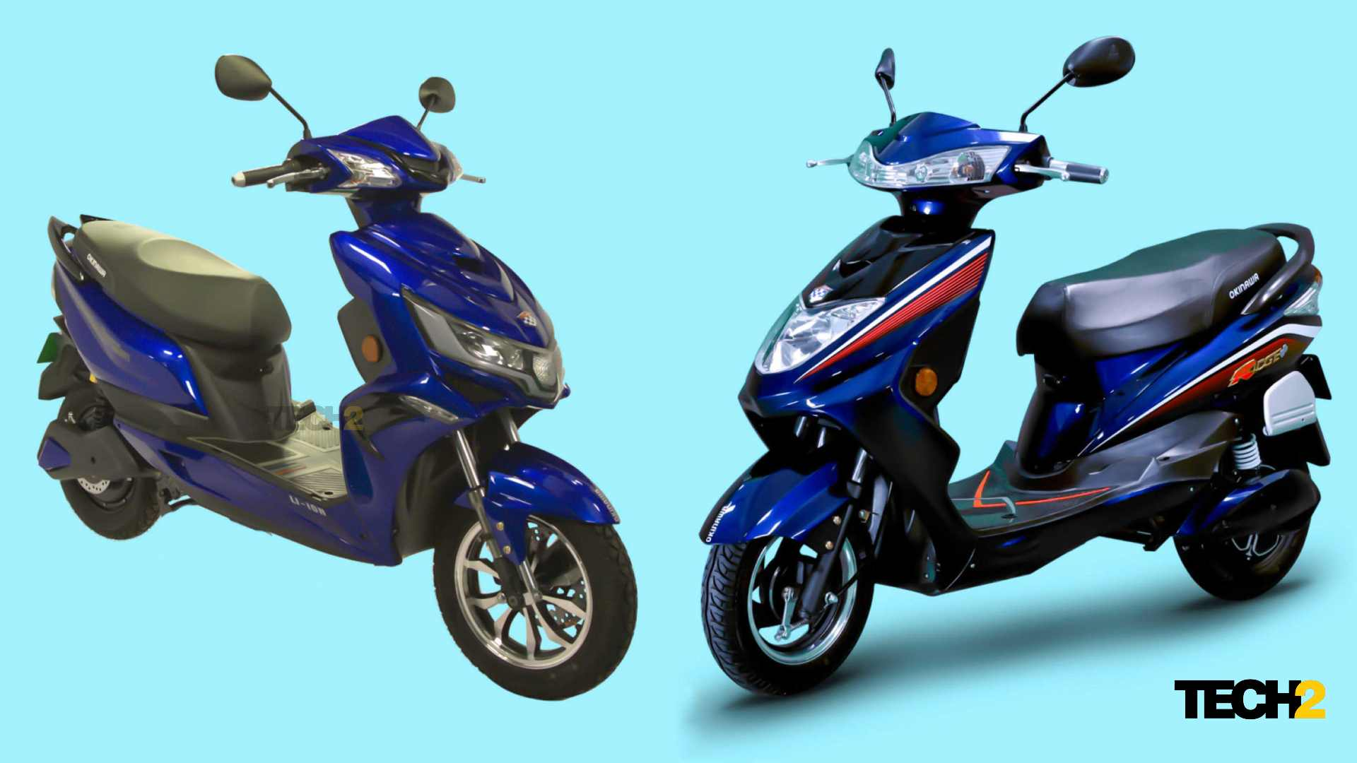 The Okinawa high-speed range will start at under Rs 40,000 in Maharashtra till the end of 2021. Image: Tech2