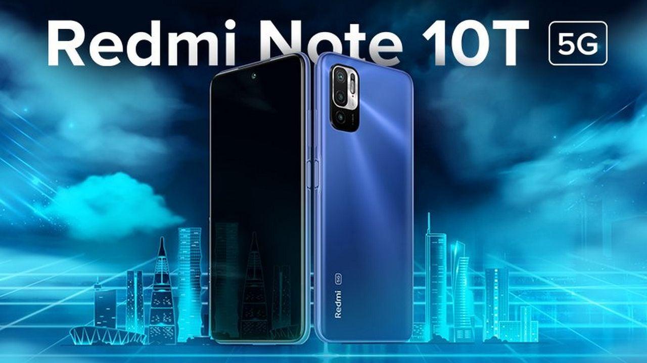 Redmi Note 10T teaser. Image: Xiaomi India