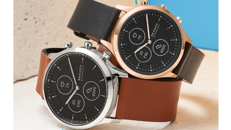The Hybrid HR watch's battery is said to last two weeks on a full charge. Image: Skagen