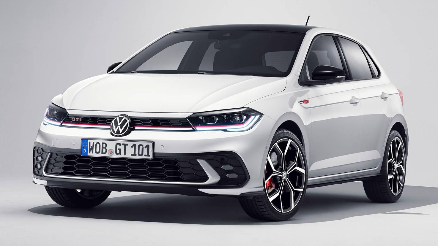 'IQ Light' matrix LED headlights now standard on the Volkswagen Polo GTI. Image: Volkswagen