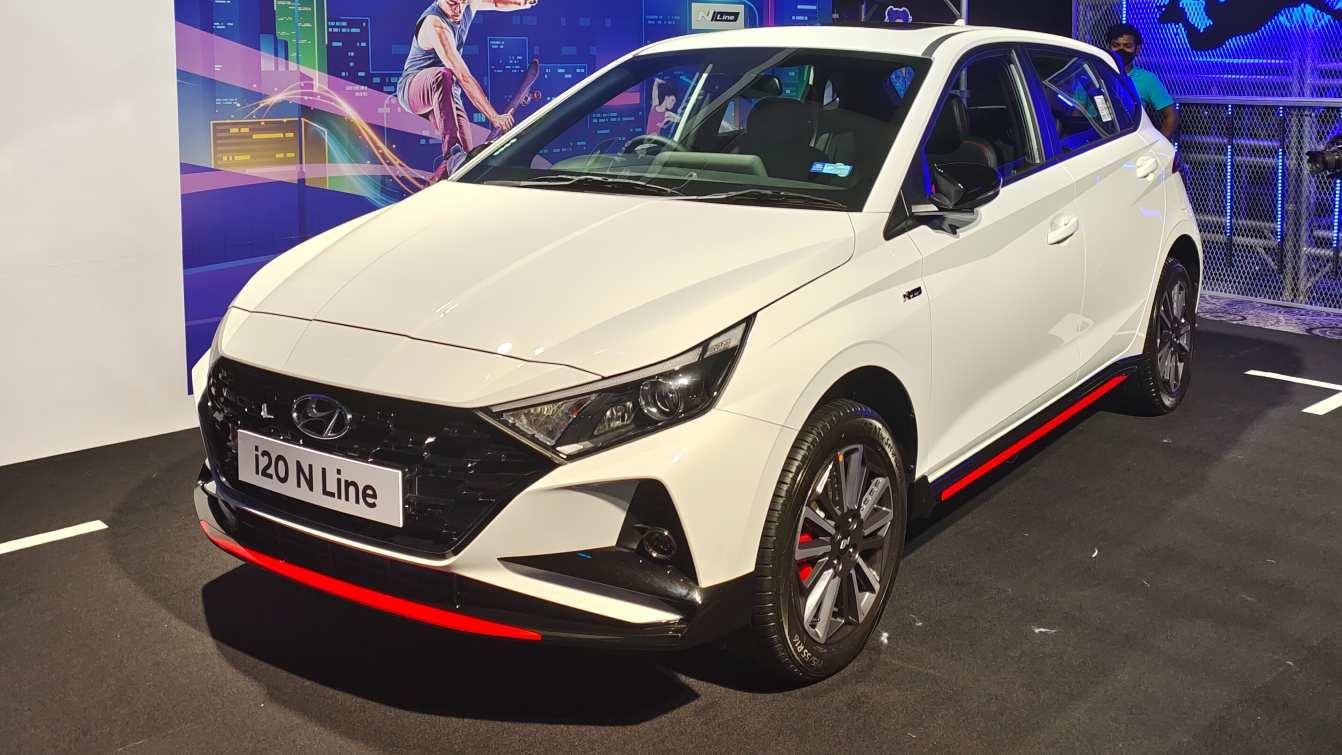 The Hyundai i20 N Line promises better driving dynamics than the standard i20. Image: Tech2/Tushar Burman
