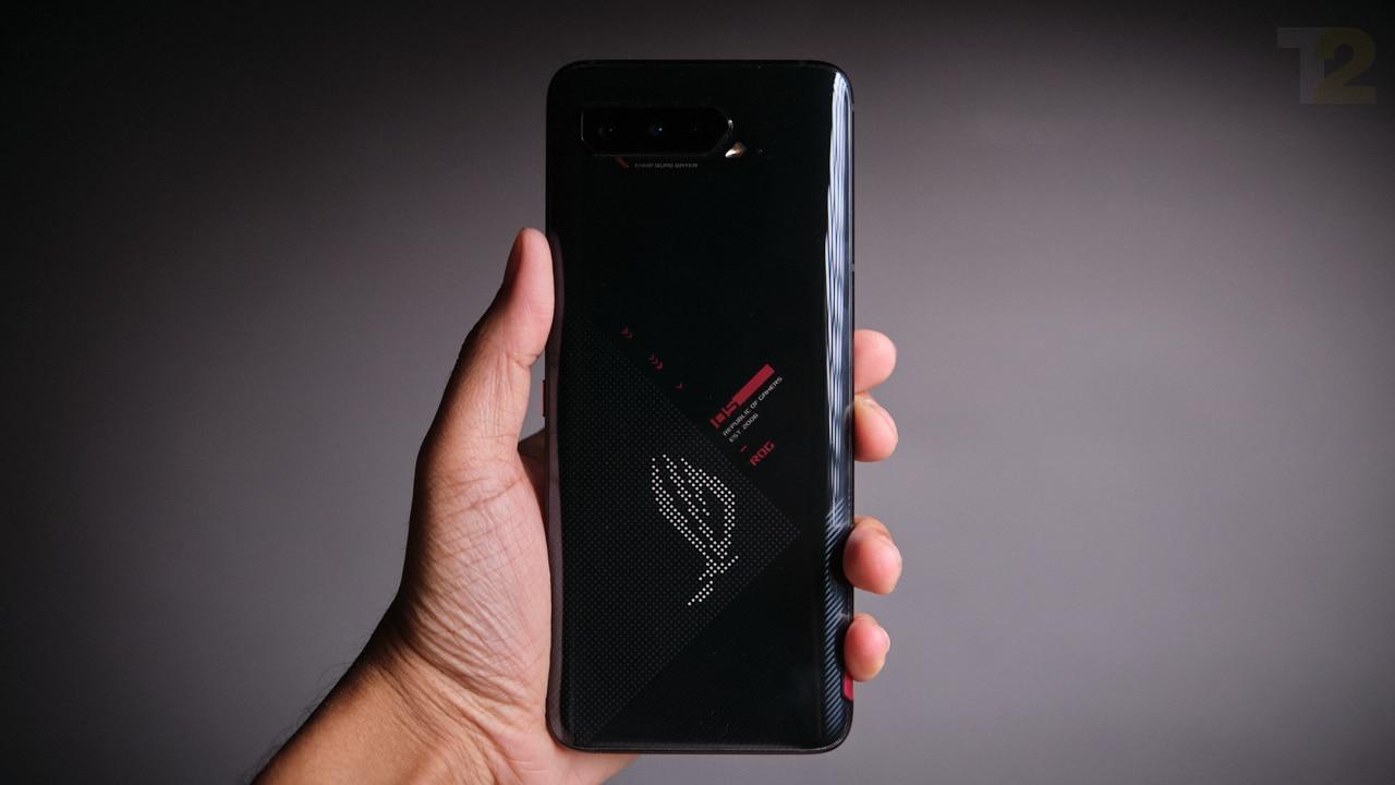 Asus ROG Phone 5. Image: Anirudh Regidi