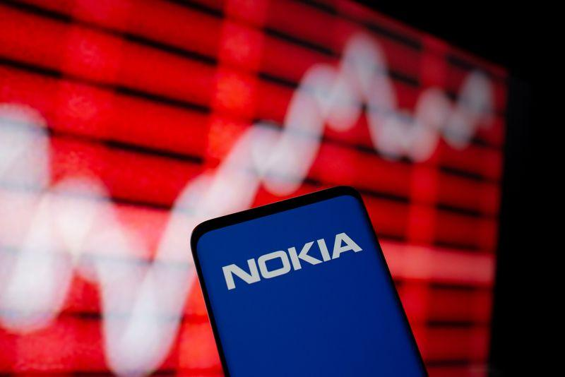 Nokia partners with internet giants, shares react