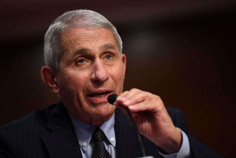 Fauci says partisanship is hurting USA response to Covid-19