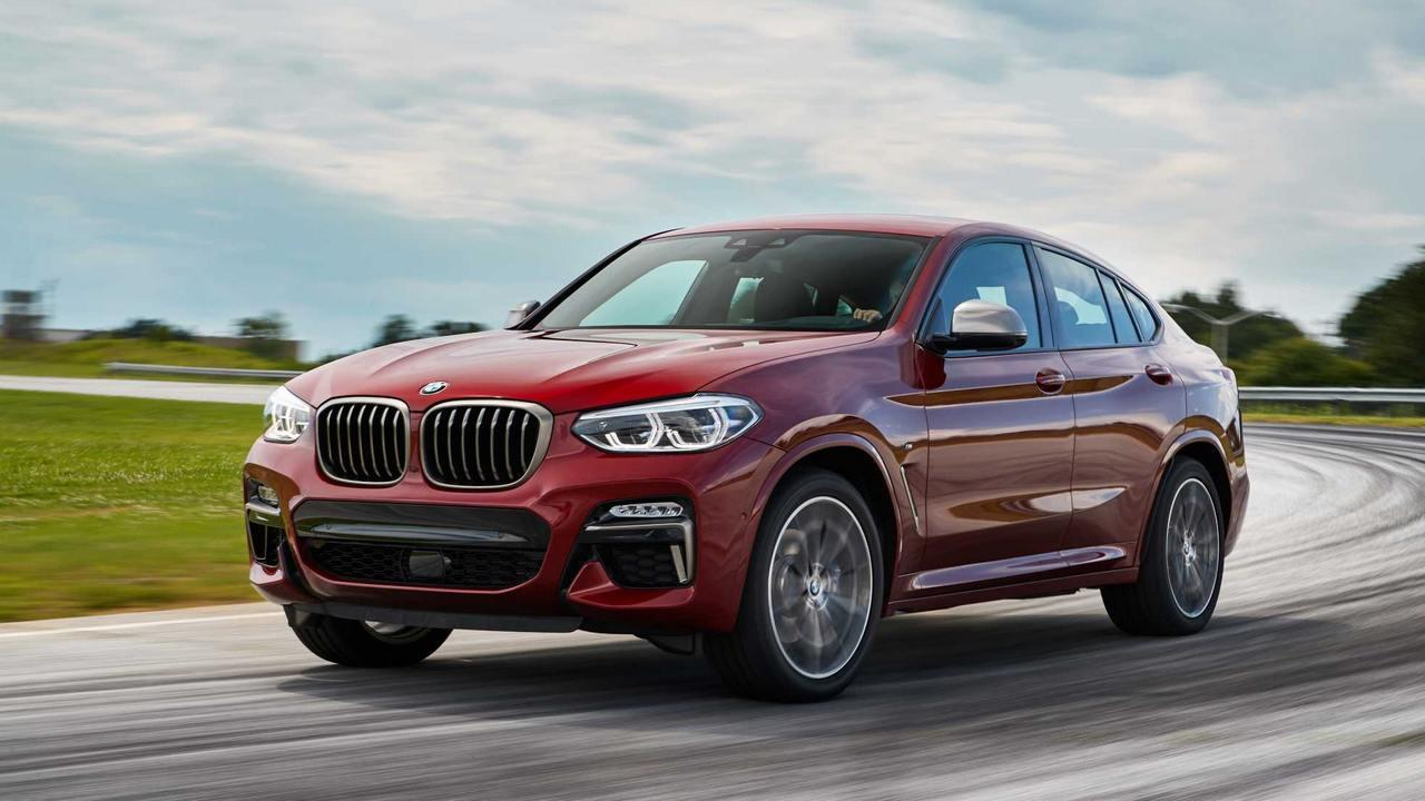 2019 BMW X4 Coupe-SUV launched in three variants starting at Rs 60.6 lakh