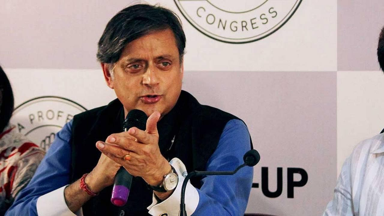 Shashi Tharoor moves Sports Bill to regulate online gaming and prevention of fraud