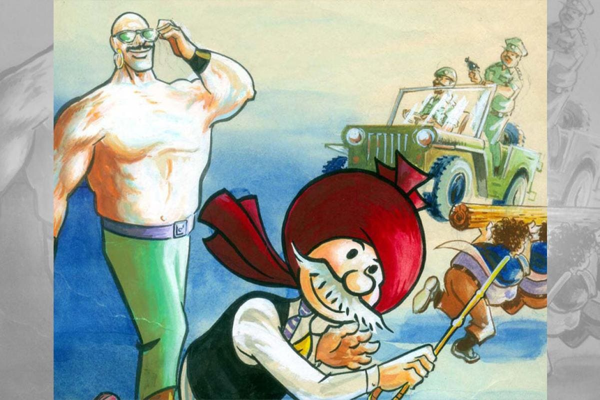 Early edition Chacha Chaudhary comics delight fans at Delhi Book