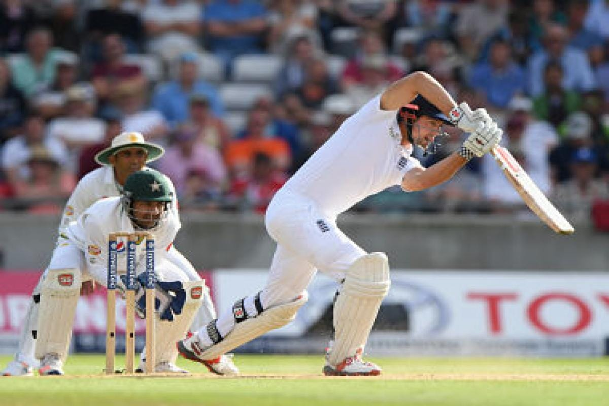 Alastair Cook and Alex Hales lead England's fightback
